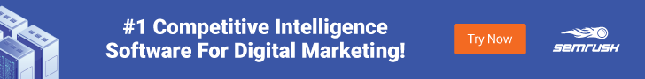 #1 Competitive Intelligence Software For Digital Marketing! Try now!