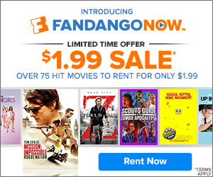 FandangoNOW - $1.99 Rental Sale