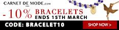 234x60 Bracelets 10% Off Coupon - Ends March 15th