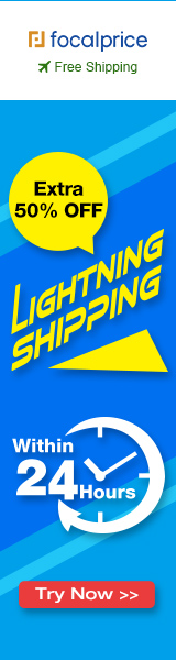 Extra 50% OFF Lightning Shipping W 24 Hours