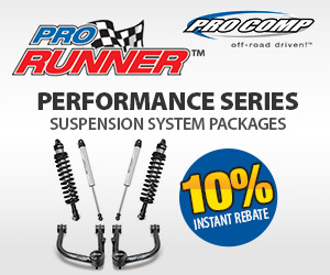 Pro Comp Black Series Performance Lift Kits now come with an INSTANT 10% OFF!