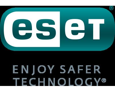 400x320 ESET Logo with Enjoy Safer Technology