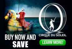 Cirque du Soleil 'O' - Buy Tickets Now and Save באנר