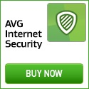 AVG Internet Security - Tough on threats.