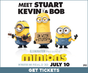 Don't get sold out! Get tickets to see Minions in theaters now!