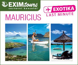 EXIMtours cestovní kancelář - Exotika Mauricius