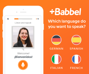 Learn spanish in minutes with Babbel