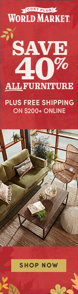 40% Off Furniture + Free Shipping $200+ with code: FURNDEAL