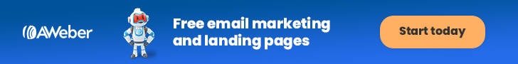 Affiliate Marketing Tools - AWeber Banner