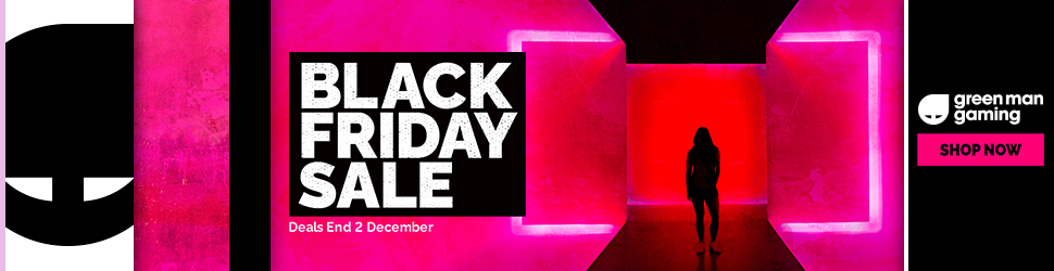 Shop the Black Friday Sale at Green Man Gaming