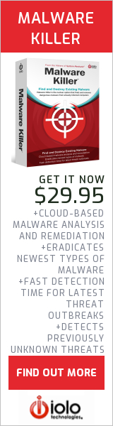 """Find and Destroy Existing Malware with Malware Killerâ""""¢."""