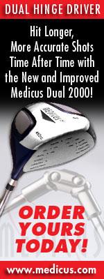 Medicus Dual Hinger Driver - Golf Training Aid