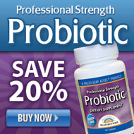 20% Off Professional Probiotics