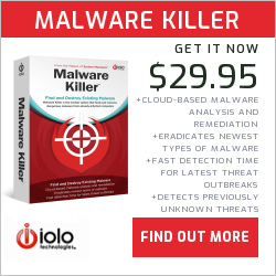 "Find and Destroy Existing Malware with Malware Killerâ""¢."