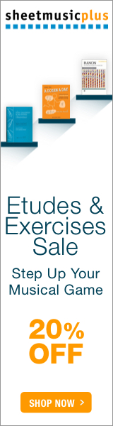 Etudes & Exercises - 20% off