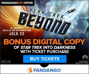Fandango - Buy Tickets to Star Trek Beyond and get a free digital copy of Star Trek Into Darkness