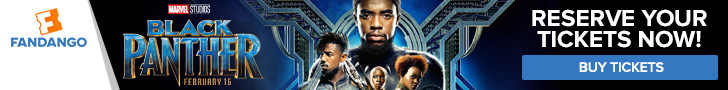 Reserve your tickets to see Black Panther!