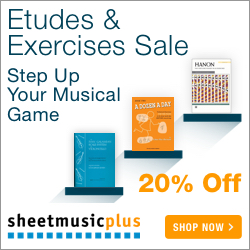 Etudes & Exercises - 20% off