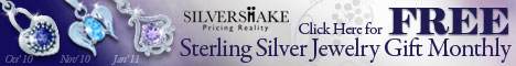 Free Silver Jewelry Gift