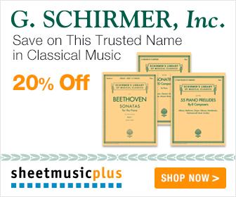 G. Schirmer - 20% off
