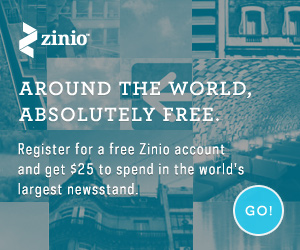 Get $25 For New Zinio Users