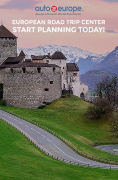 European Road Trip Planner