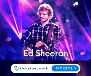 Get your Ed Sheeran Tickets now!