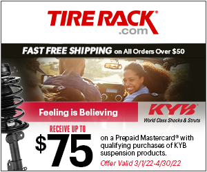Get Up to a $70 General Tire Visa Prepaid Card