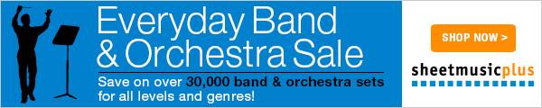 Everyday Band and Orchestra Sale