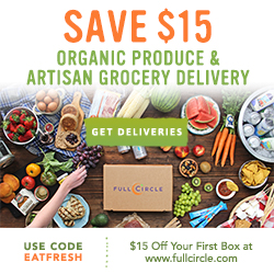 $15 Off Your First Box of Produce