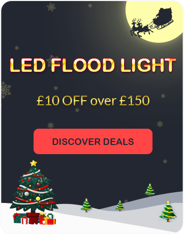 Christmas Promotion: LED Flood Light Deals at lightingever.co.uk