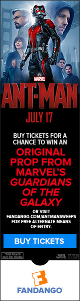 Ant-Man Movie Prop Sweepstakes