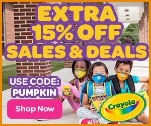15% Off Sales & Deals with PUMPKIN