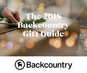Shop the 2018 Holiday Gift Guide at Backcountry.com - the Gift of Adventure Awaits