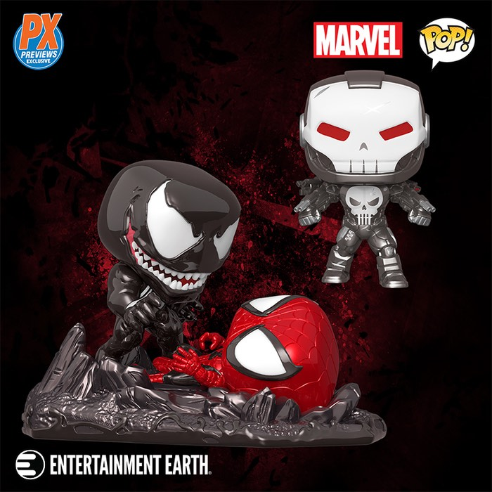 Spider-Man vs. Venom Comic Moment Pop! Vinyl Figure 2-Pack , music,  action figures,  prop replica,  collectibles,  collectables,  sports,  NFL,  Nerf,  Big Bang Theory,  Superman,  gifts,  toys,  Television,  Star Wars,  Batman,  Doctor Who,  Star Trek