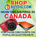 Unbeatable Discounts and Fast Shipping from Buydig.com now available in to Canada!