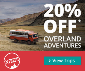 10% Off Anywhere and Everywhere w/ Intrepid Travel!