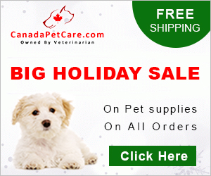 Spark into holiday spirit with 15% Extra Discount on All Orders at CanadaPetCare.com