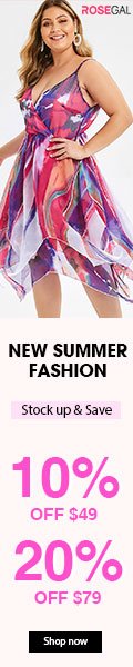 New Summer Fashion-10% off $49, 20% off $79