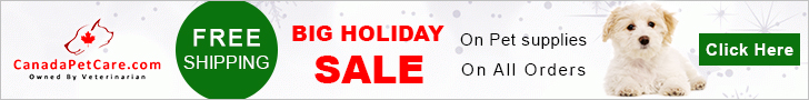 Jingle Your Way to Save Extra 15% Off on All Orders at CanadaPetCare.com