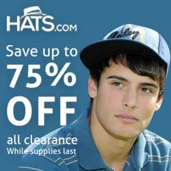 Hats.com - Up to 75% off Clearance