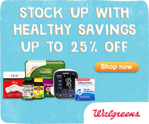 Stock Up with Healthy Savings - Up to 25% off!
