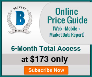 Image for Save 17% on 6 Months Total Access (Web + Mobile App + Market Data Report) Online Price Guide Subscription ._300x250