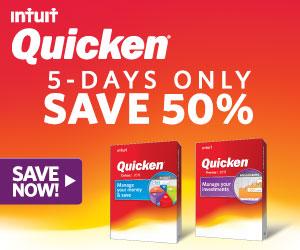 Quicken 2015 Money Management - $10 Off_728x90