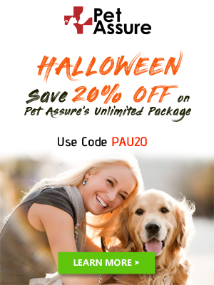 Save 20% Off on Pet Assure's Unlimited Package 300x400