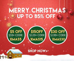 85% OFF + $30 OFF on Fun & Festive Holiday Picks! Ultimate last-minute Offer!