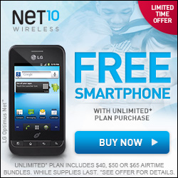 Net10 wireless review - limited time offer