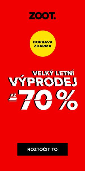 Vyprodej až 50% na Zoot.cz