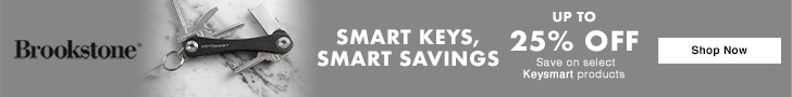 Brookstone - Brookstone: Smart Keys, Smart Savings! Up to 25% Off
