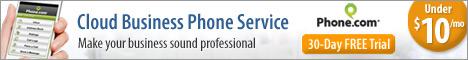 468x60 Cloud Business Phone Service